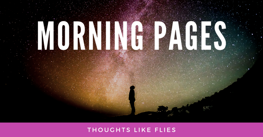 Morning Pages - Thoughts Like Flies